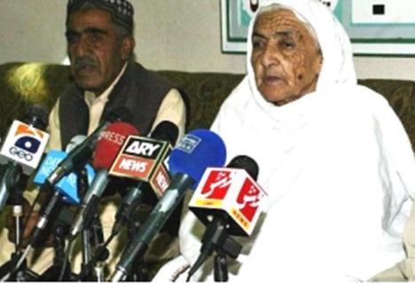 Mir Wadood Raisani's Mother